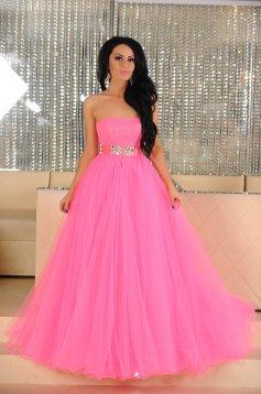Pink Sherri Hill Sparkling Treasure Ruha