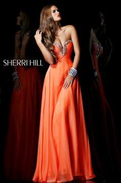 Narancs Sherri Hill 21097 Ruha