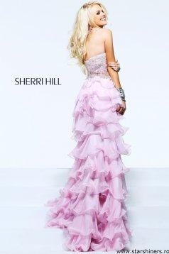 Rózsaszín Sherri Hill 3875 Ruha