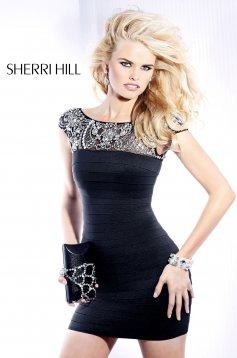 Fekete Sherri Hill 2933 Ruha