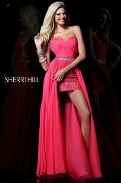 Pink Sherri Hill 1570 Ruha