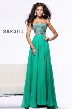 Zöld Sherri Hill 1539 Ruha
