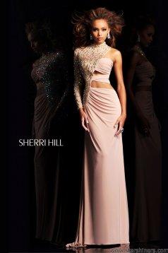 NudeNo Sherri Hill 21002 Ruha
