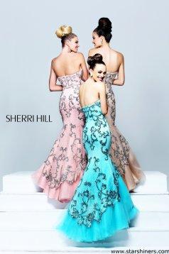 Rózsaszínű Sherri Hill 21058 Ruha