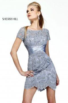 Ezüst Sherri Hill 21204 Ruha