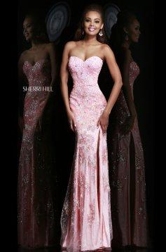 Pink Sherri Hill 9707 Ruha
