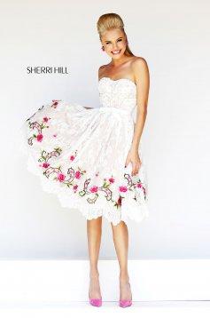 Pink Sherri Hill 21229 Ruha