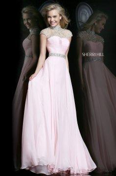 Pink Sherri Hill 21254 Ruha