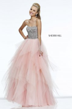 Pink Sherri Hill 11085 Ruha