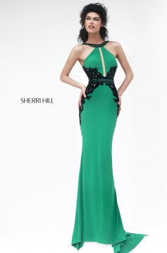 Zöld Sherri Hill 32013 Ruha