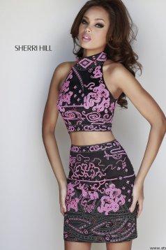 Fekete Sherri Hill 32024 Ruha