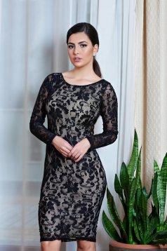 Fekete MissQ Fancy Lace Ruha