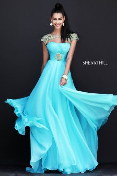 Kék Sherri Hill 11193 Ruha