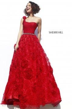 Piros Sherri Hill 21361 Ruha