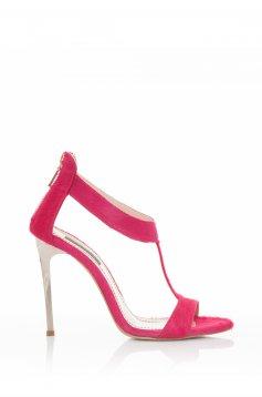 Pink Mineli Boutique Sensational Bőr Szandál