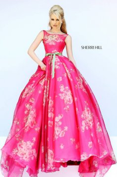 Pink Sherri Hill 32259 Ruha