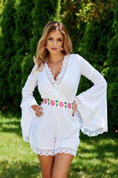 Fehér Mexton Elegant Wear Overál