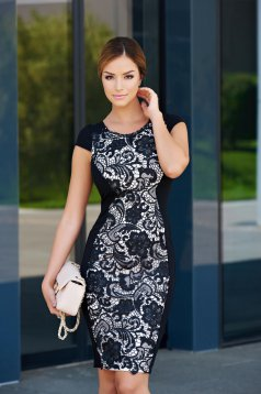 Fekete StarShinerS Your Elegance Ruha