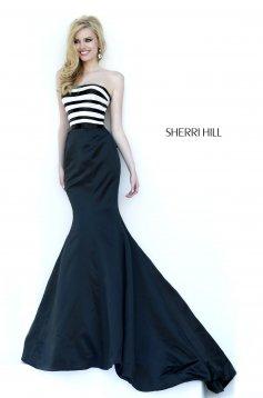 Fekete Sherri Hill 32091 Ruha