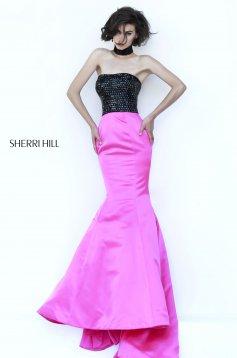 Pink Sherri Hill 32158 Ruha