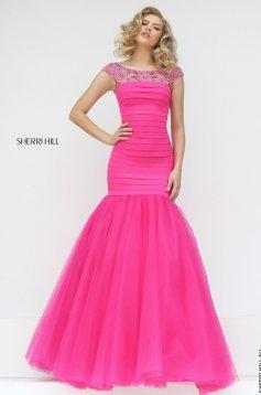 Pink Sherri Hill 50014 Ruha