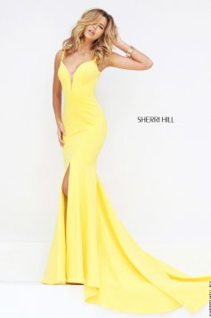 Sárga Sherri Hill 50125 Ruha