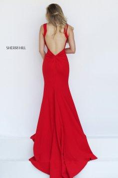 Piros Sherri Hill 50125 Ruha