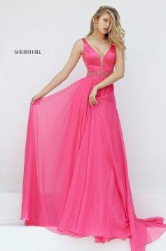 Pink Sherri Hill 50264 Ruha