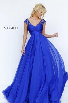 Kék Sherri Hill 50045 Ruha