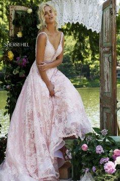Rózsaszínű Sherri Hill 11314 Ruha