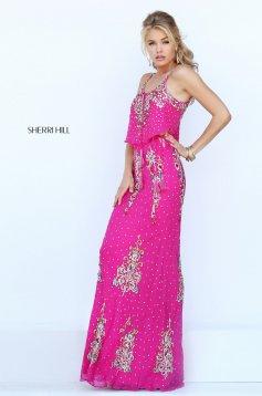 Pink Sherri Hill 50375 Ruha