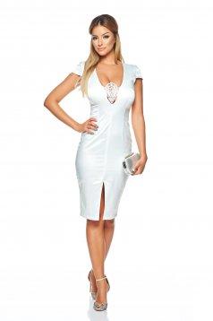 Fehér StarShinerS Captivating Elegancy Ruha
