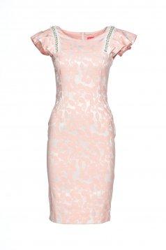 Rózsaszínű StarShinerS Elegant Delicacy Ruha