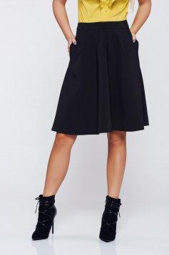 Fekete Top Secret harang alakú zsebes szoknya