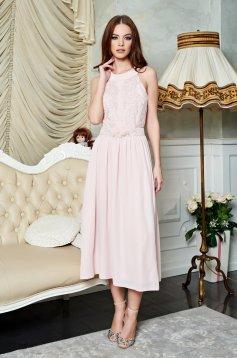 Rózsaszínű LaDonna Fragrance Ruha