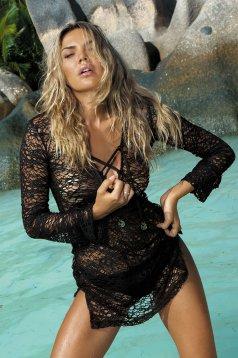 Fekete Hot Summer Strand Ruha