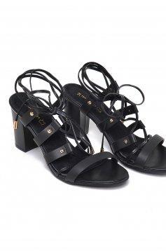 Fekete Top Secret Street Fashion Szandál