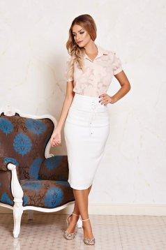 Fehér Daniella Cristea Style Szoknya