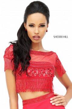 Piros Sherri Hill 50539 Ruha