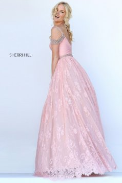 Rózsaszínű Sherri Hill 50595 Ruha