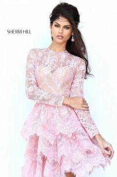 Rózsaszínű Sherri Hill 50686 Ruha