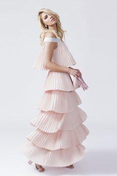 Rózsaszínű Daniella Cristea Iconic Style Ruha