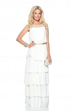 Fehér Daniella Cristea Iconic Style Ruha