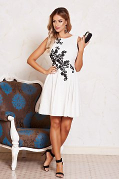Fehér LaDonna Natural Style Ruha