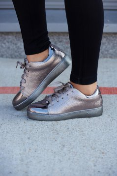 Ezüst Smart Walk Sport Cipő