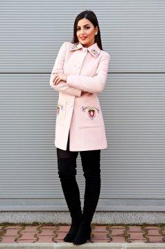 Rózsaszínű LaDonna Fabulous Winter Nagykabát