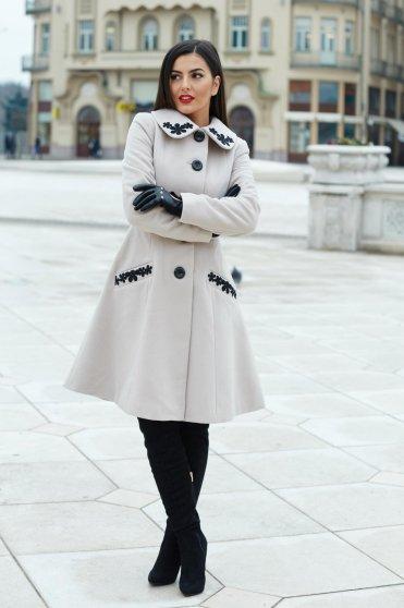 Krém LaDonna Splendid Style Nagykabát
