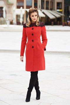 Piros LaDonna Select Lady Nagykabát