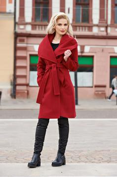 Burgundy LaDonna Fashion Addict Nagykabát