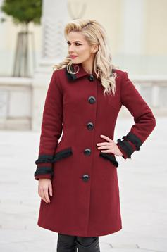 Burgundy LaDonna Best Look Nagykabát